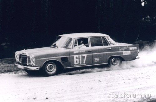 MEDIO SIGLO ATRAS... MERCEDES BENZ 300SE RALLY ARGENTINA 1964