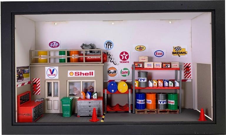 Cuadros 3D en escala 1/43 by Miniature World