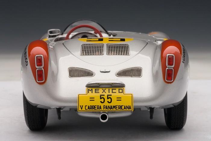 PORSCHE 550 RS SPYDER<br> CARRERA PANAMERICANA<br> por AUTOART