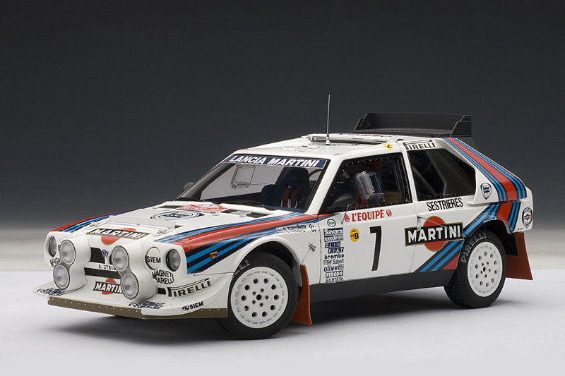 Lancia S4 de Rally, Autoart