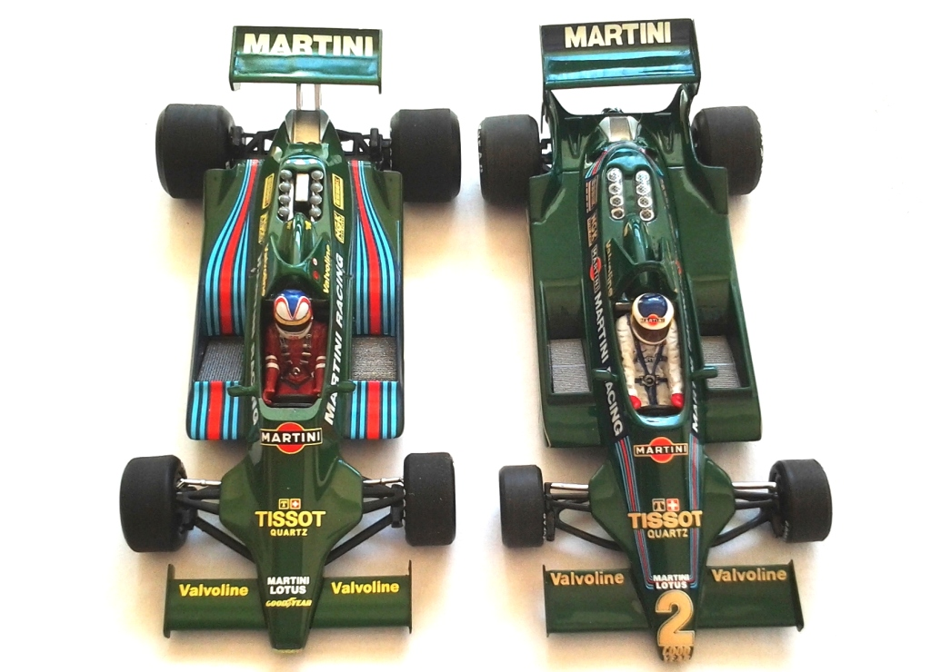 LOTUS FORD 79 F1 1/43 REUTEMANN